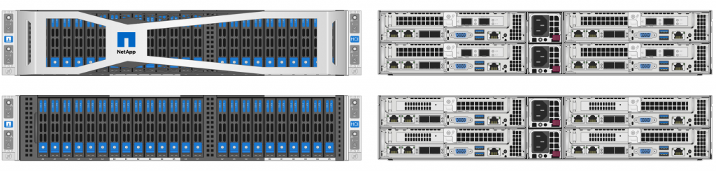 NetApp HCI (Compute and Storage) Nodes